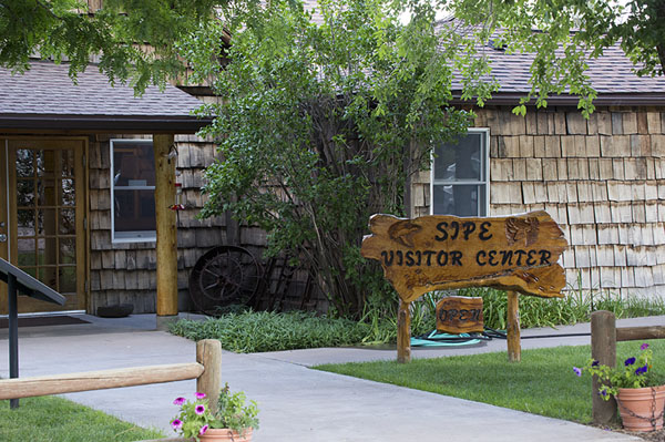 Picture of Sipe Wildlife Area visitor center entrance